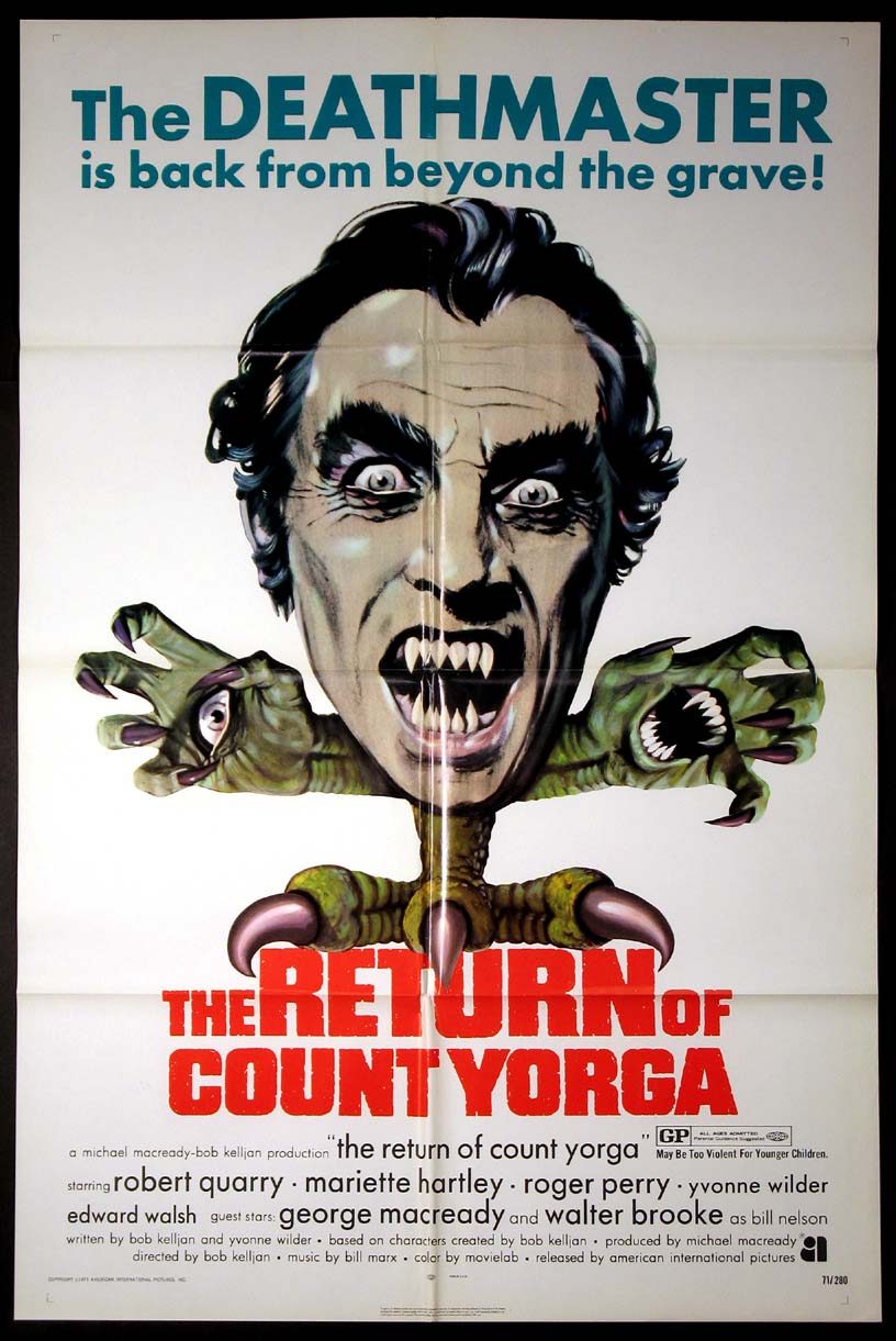RETURN OF COUNT YORGA, THE @ FilmPosters.com