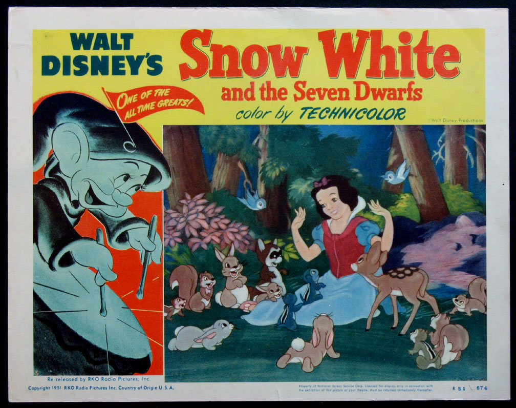 SNOW WHITE AND THE SEVEN DWARFS @ FilmPosters.com