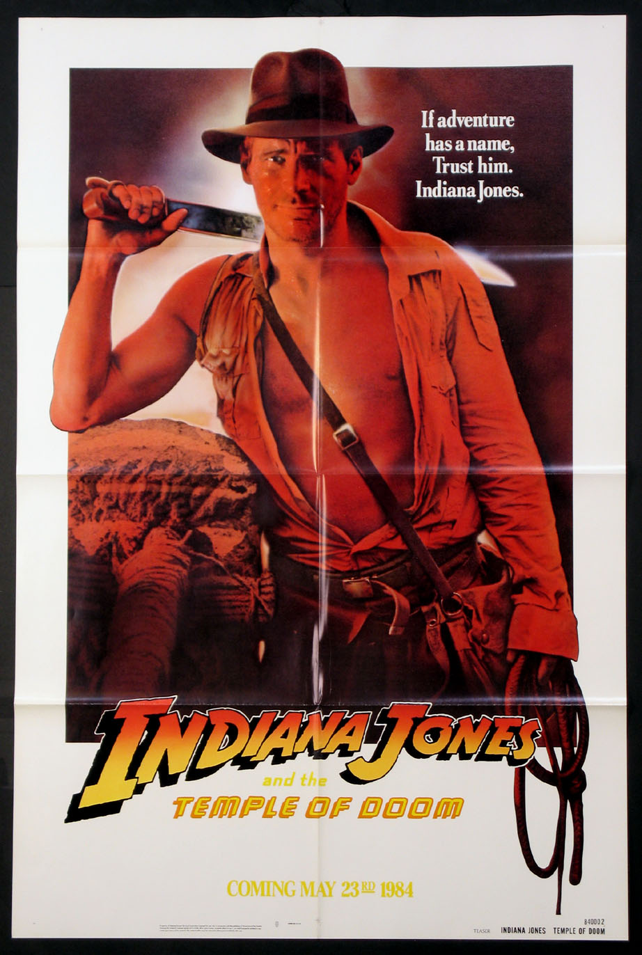INDIANA JONES AND THE TEMPLE OF DOOM @ FilmPosters.com