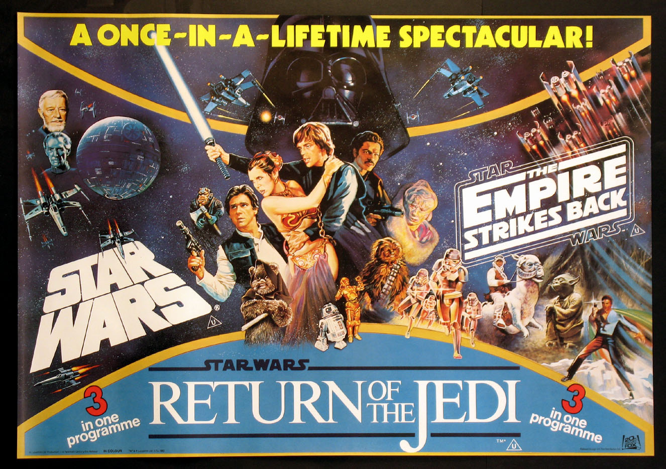 STAR WARS / EMPIRE STRIKES BACK / RETURN OF THE JEDI @ FilmPosters.com
