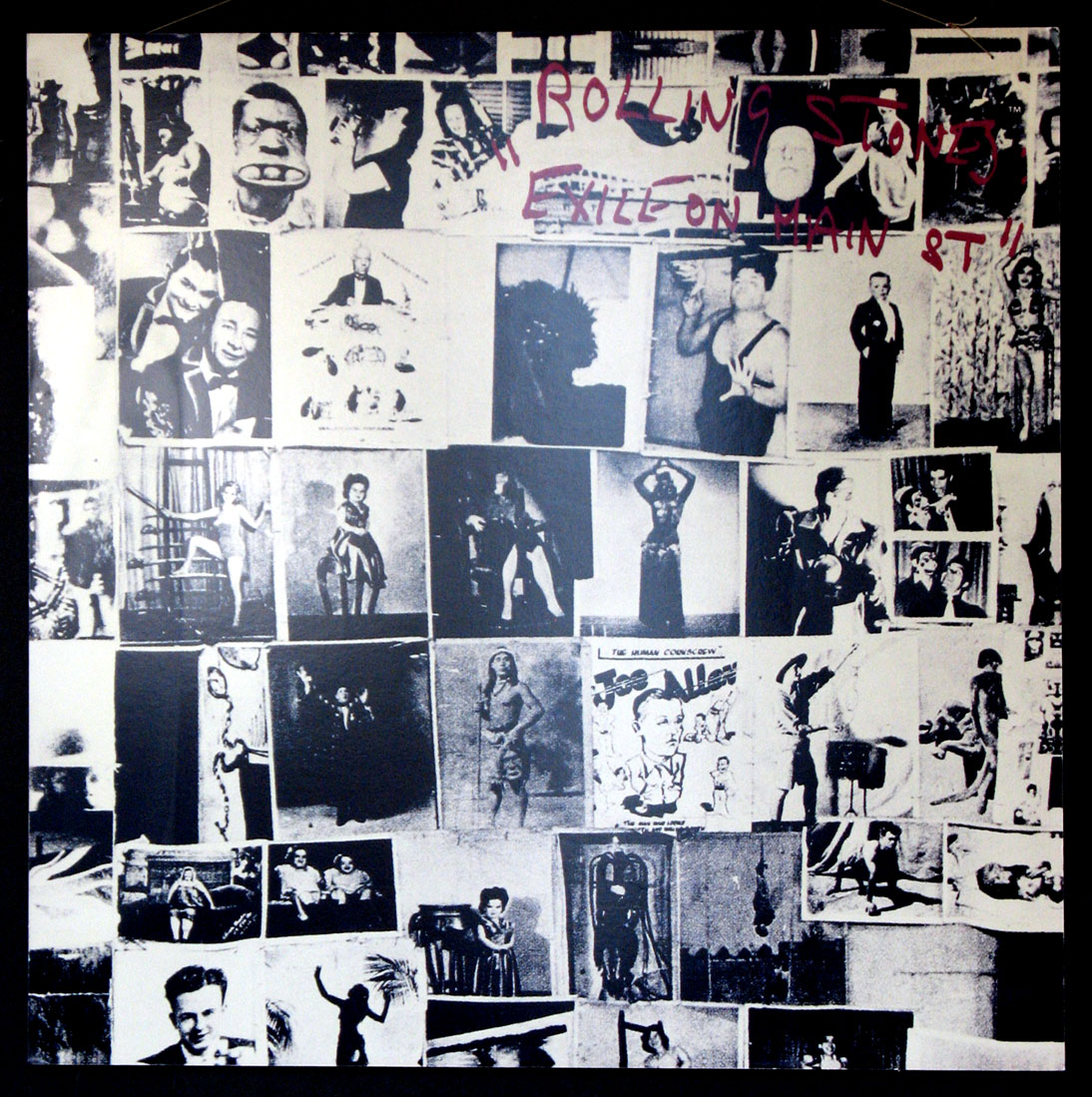 ROLLING STONES EXILE ON MAIN STREET PROMOTIONAL POSTER @ FilmPosters.com