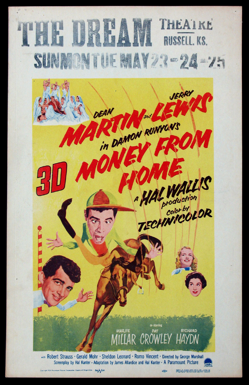 MONEY FROM HOME @ FilmPosters.com