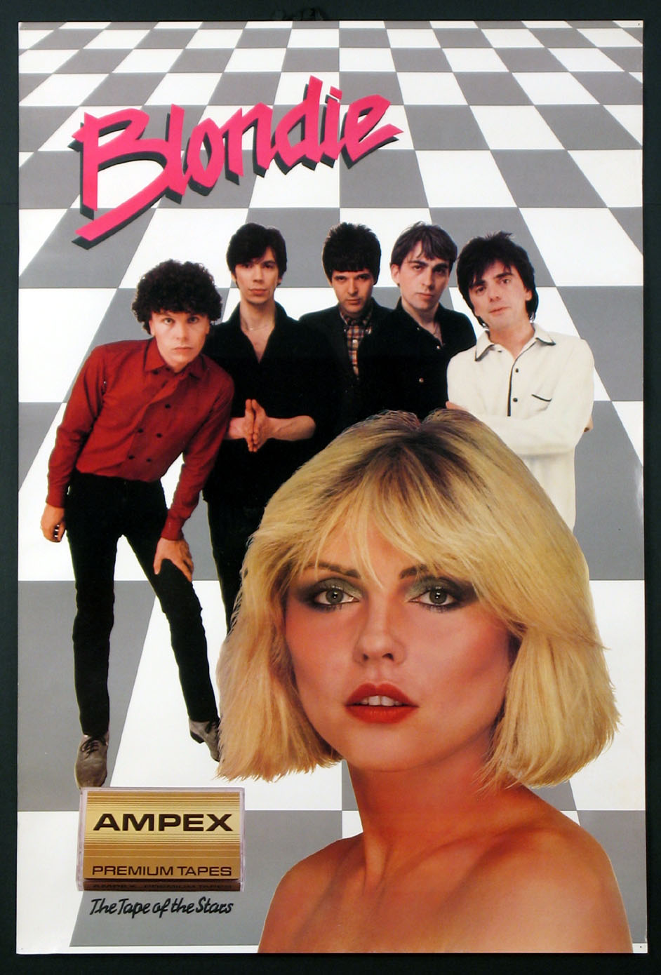 BLONDIE AMPEX TAPES ADVERTISING POSTER @ FilmPosters.com