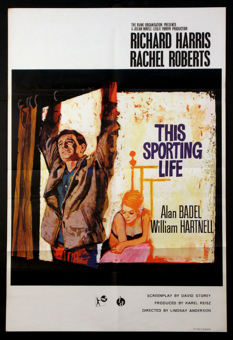 THIS SPORTING LIFE @ FilmPosters.com
