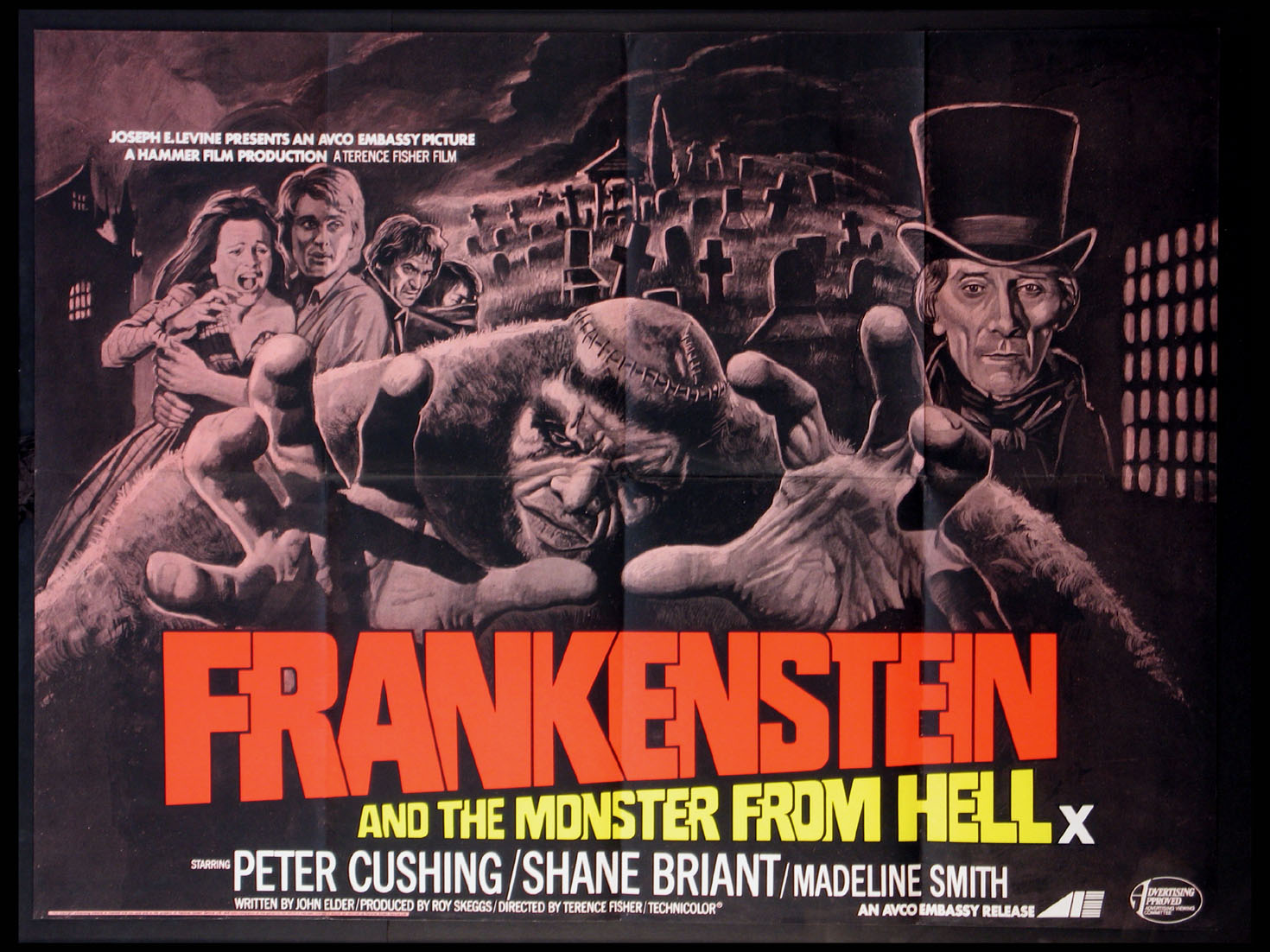 FRANKENSTEIN AND THE MONSTER FROM HELL @ FilmPosters.com