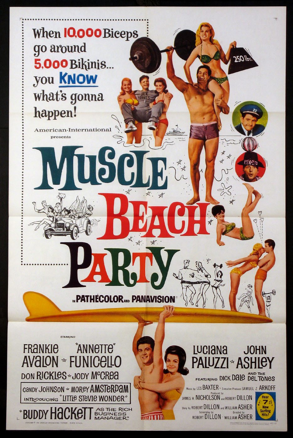 MUSCLE BEACH PARTY @ FilmPosters.com