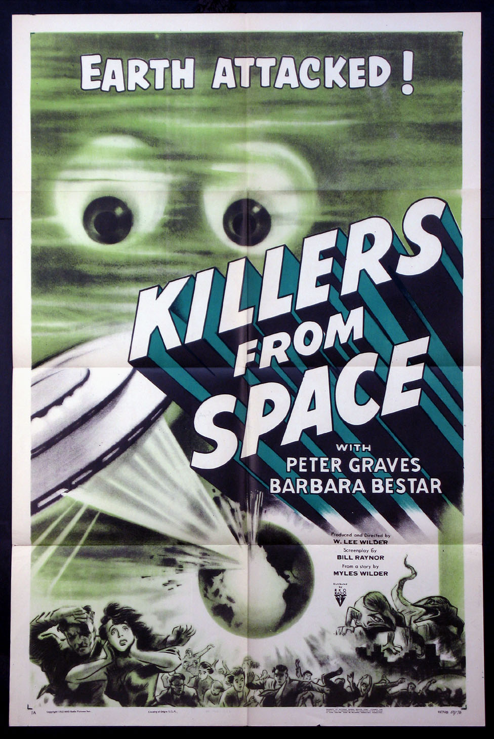 KILLERS FROM SPACE @ FilmPosters.com