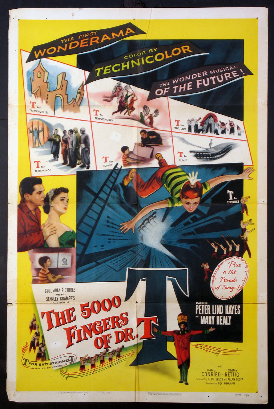 5000 FINGERS OF DR. T (Five Thousand Fingers of Dr. T) @ FilmPosters.com