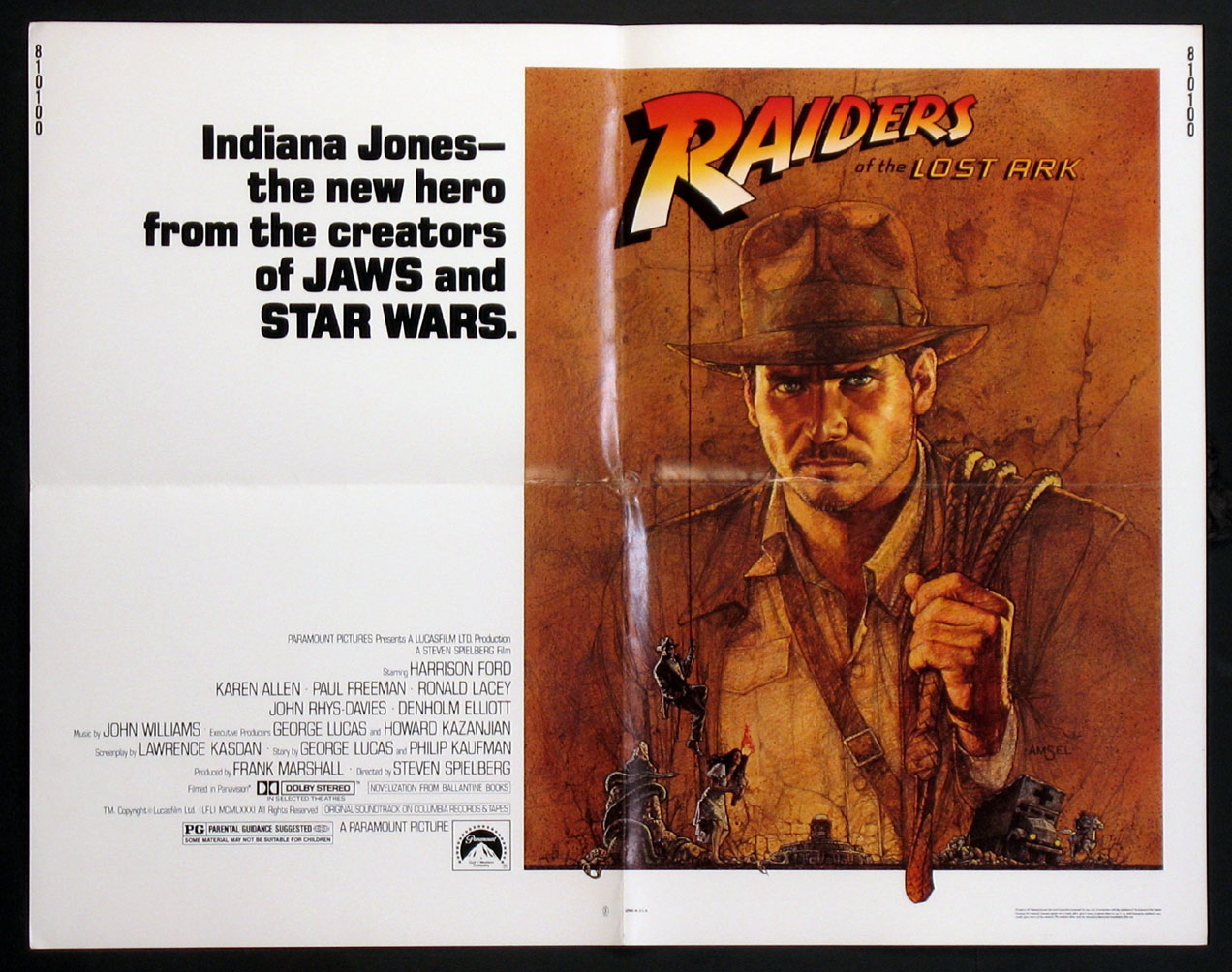 RAIDERS OF THE LOST ARK @ FilmPosters.com