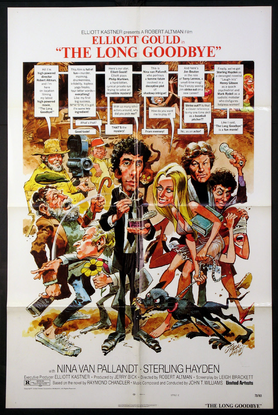 LONG GOODBYE, THE @ FilmPosters.com