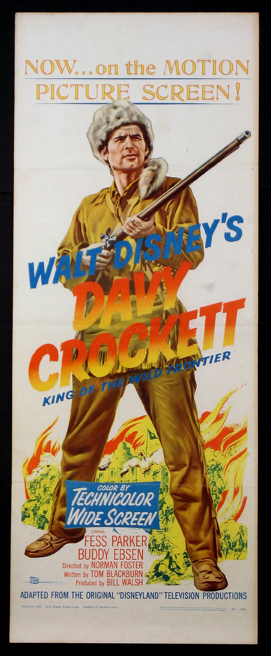 DAVY CROCKETT, KING OF THE WILD FRONTIER @ FilmPosters.com