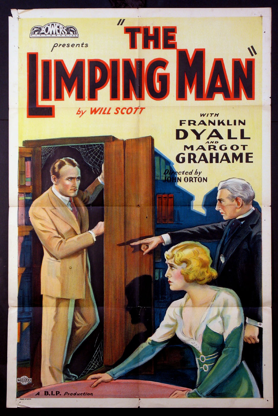 LIMPING MAN, THE @ FilmPosters.com