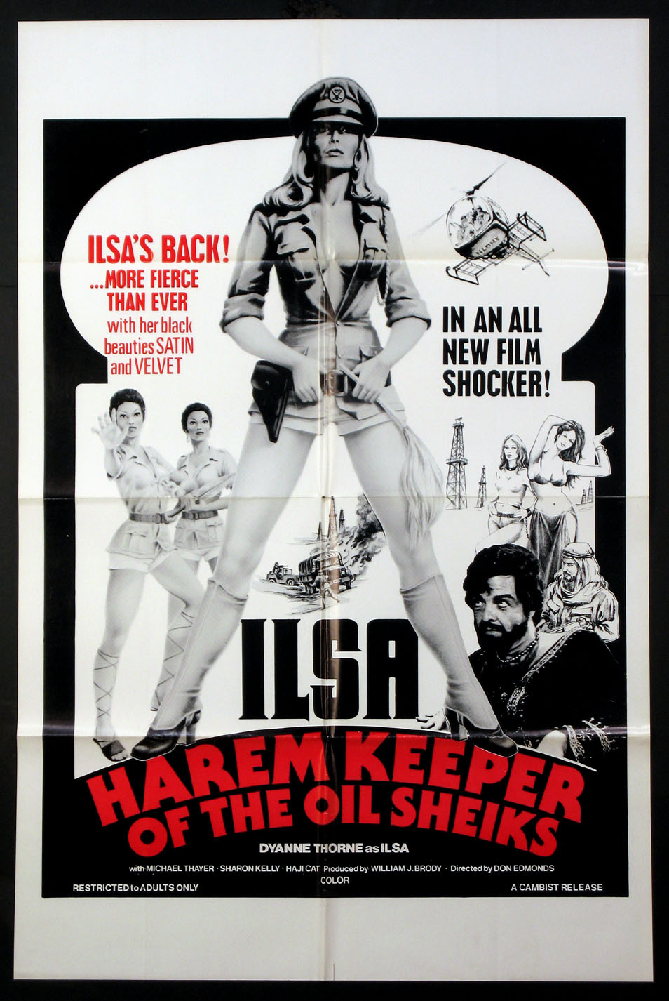 ILSA, HAREM KEEPER OF THE OIL SHEIKS @ FilmPosters.com