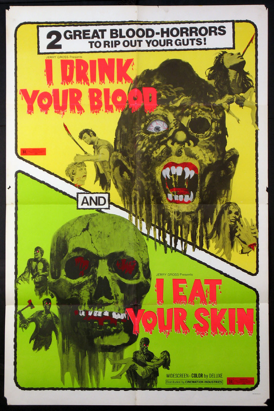 I DRINK YOUR BLOOD, I EAT YOUR SKIN @ FilmPosters.com