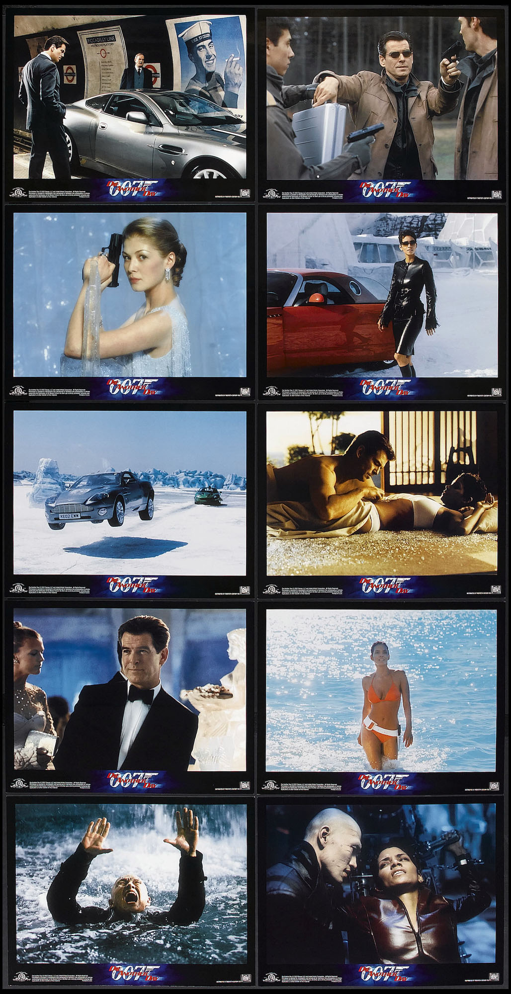 DIE ANOTHER DAY (James Bond) @ FilmPosters.com