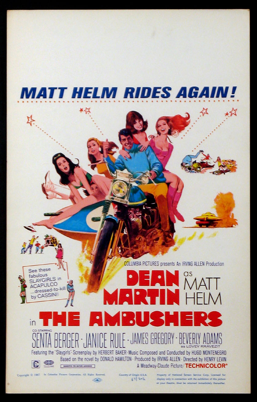 AMBUSHERS, THE (Matt Helm series) @ FilmPosters.com