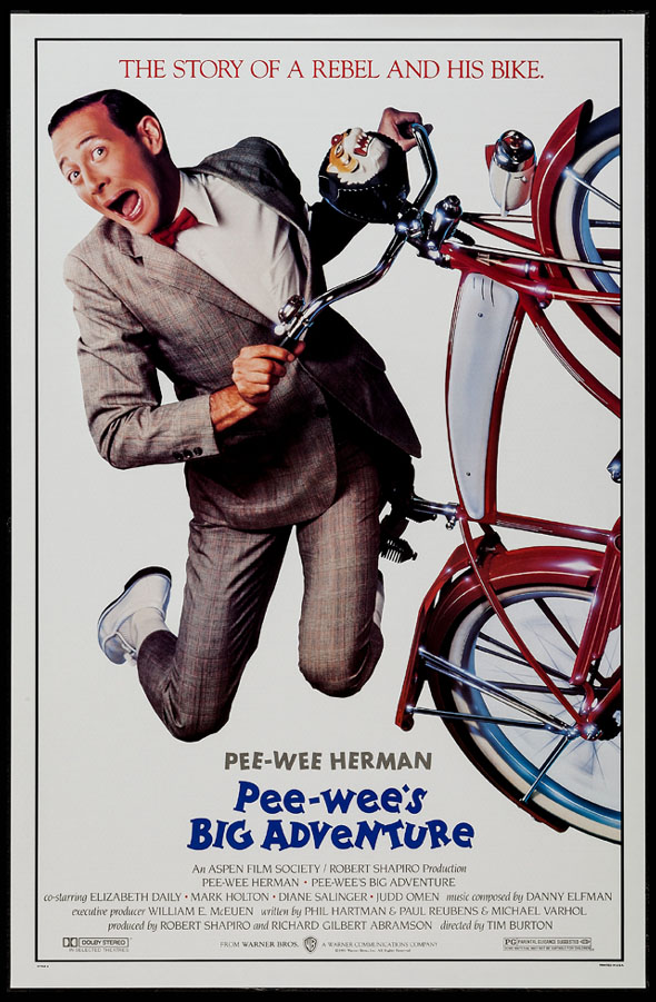 PEE-WEE'S BIG ADVENTURE (PeeWee's Big Adventure) @ FilmPosters.com
