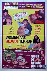 WOMEN AND BLOODY TERROR / NIGHT OF BLOODY HORROR @ FilmPosters.com