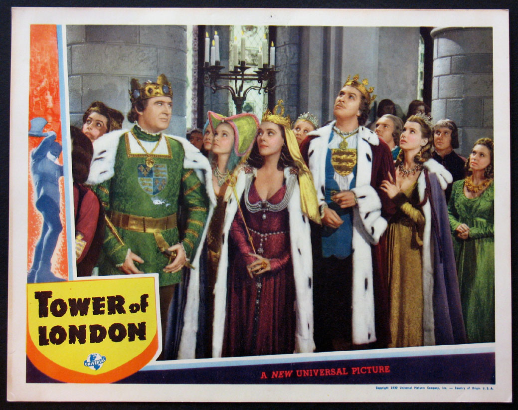 TOWER OF LONDON @ FilmPosters.com