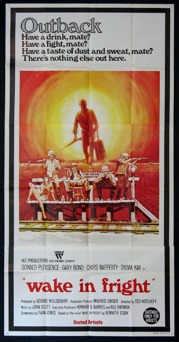 WAKE IN FRIGHT (aka Outback) @ FilmPosters.com