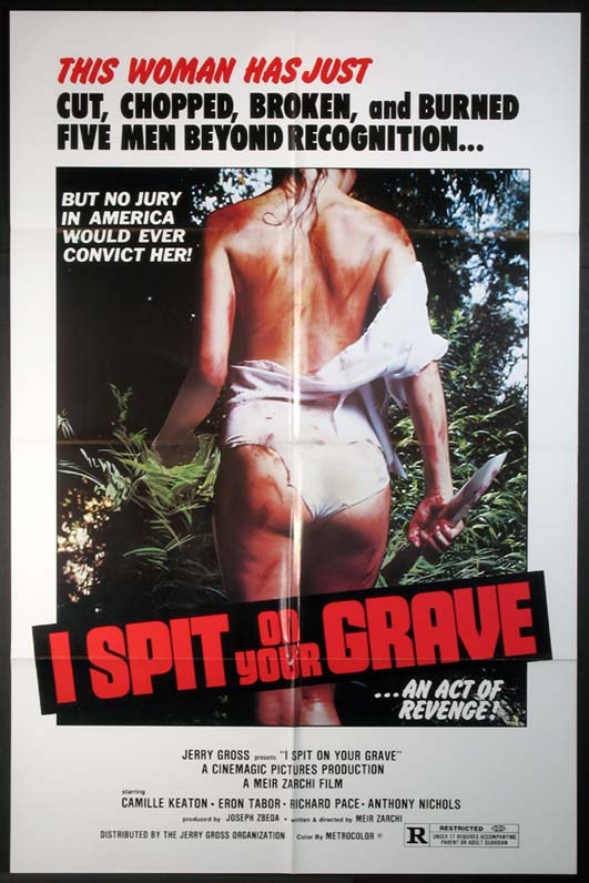 I SPIT ON YOUR GRAVE @ FilmPosters.com