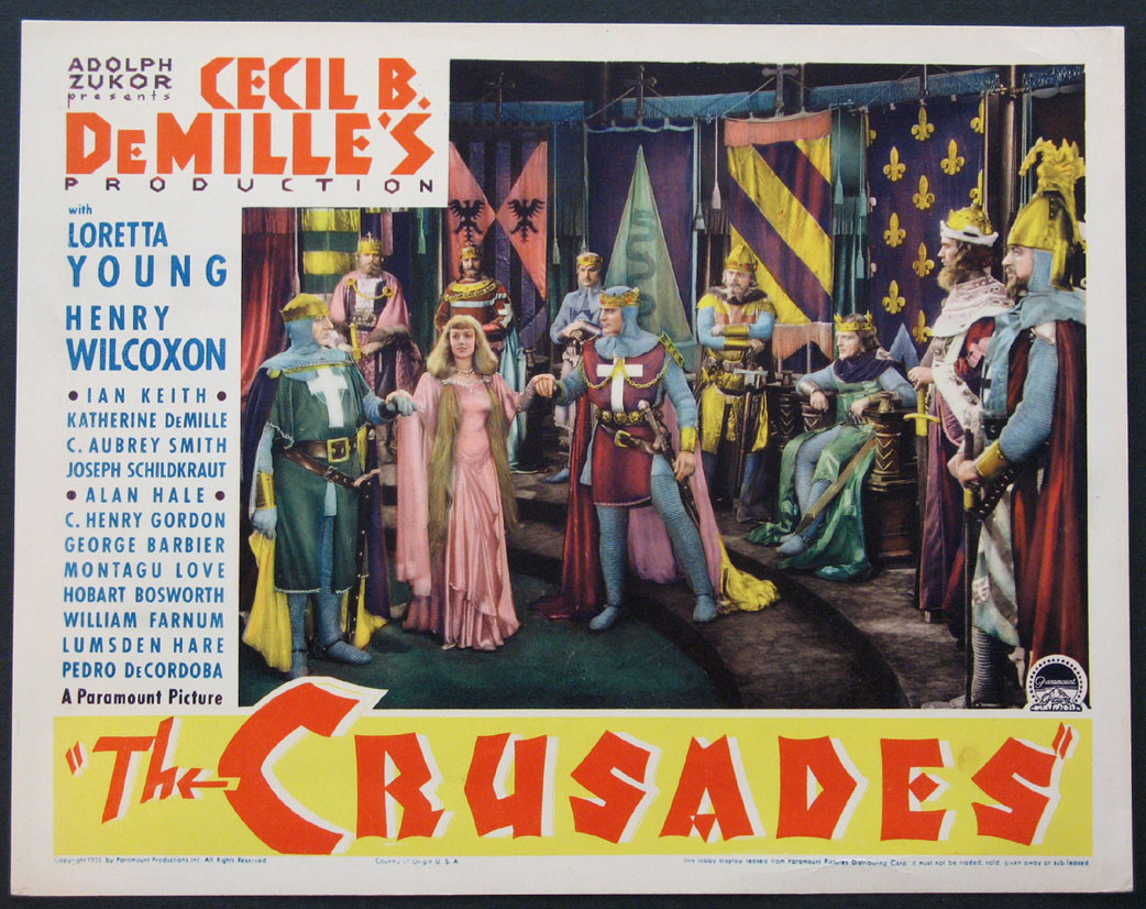 CRUSADES, THE (The Crusades) @ FilmPosters.com