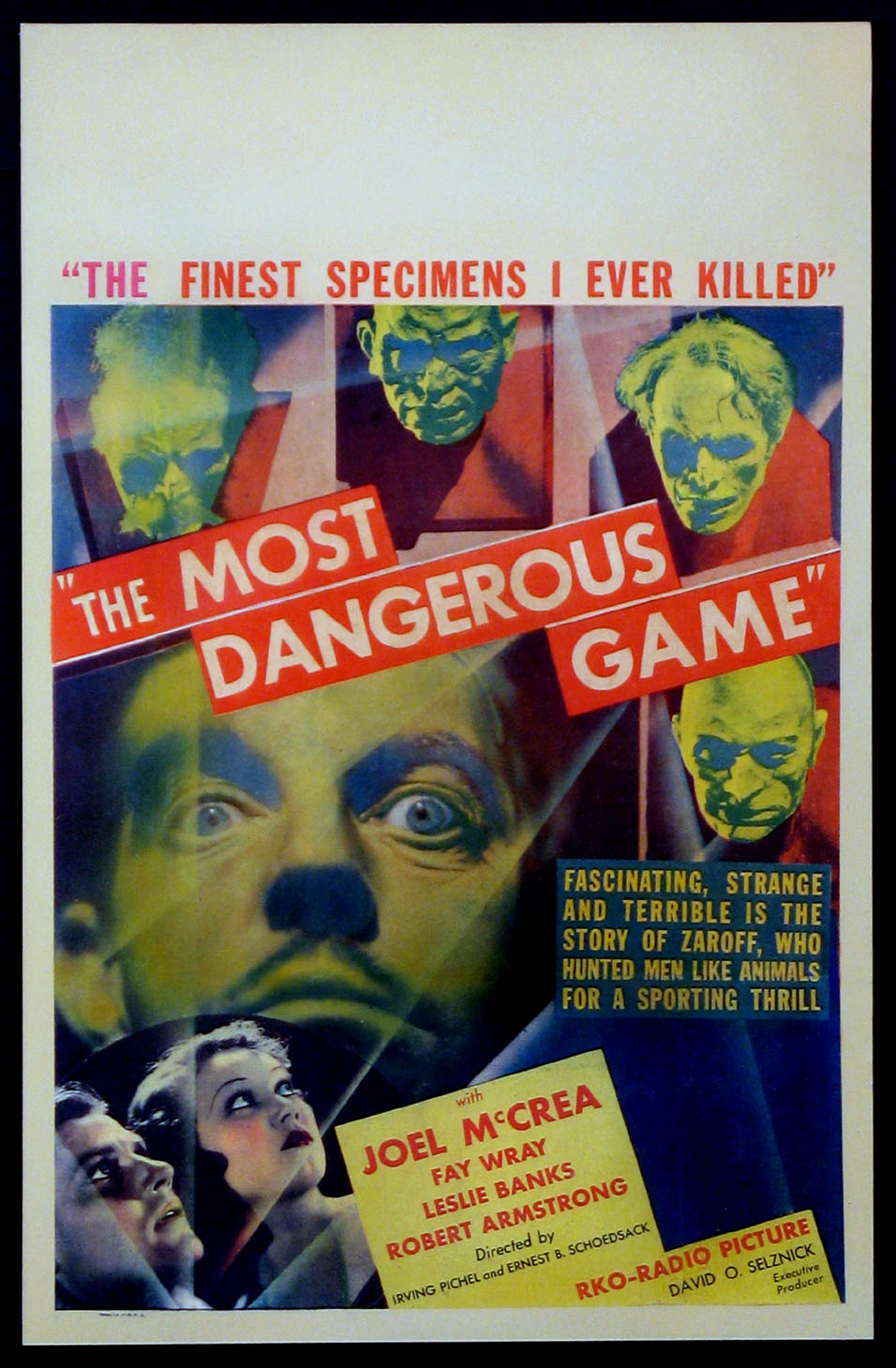 MOST DANGEROUS GAME, THE @ FilmPosters.com