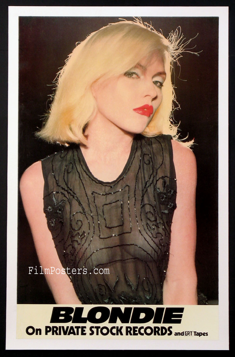 BLONDIE ON PRIVATE STOCK RECORDS PROMOTIONAL POSTER @ FilmPosters.com