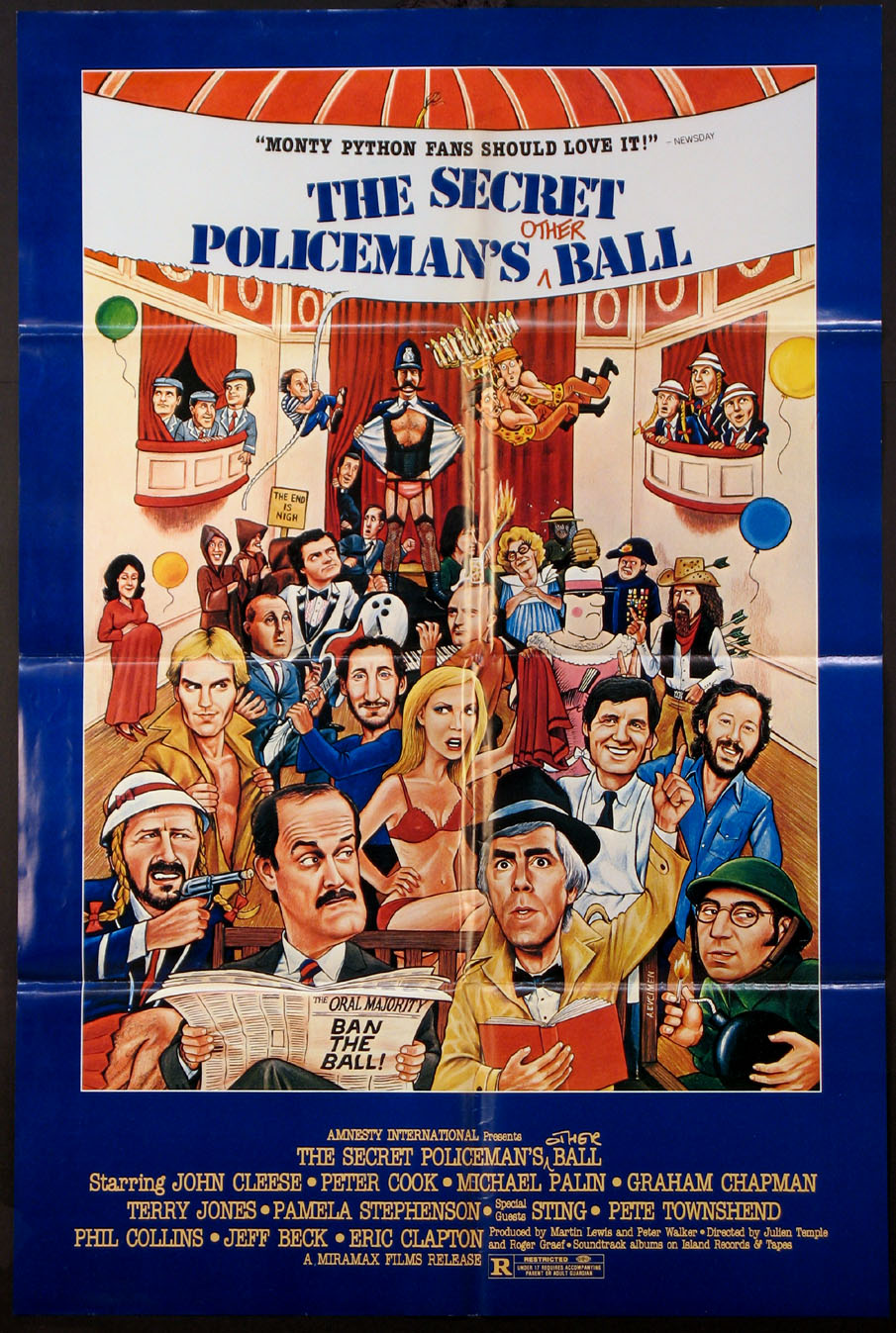 SECRET POLICEMAN'S OTHER BALL, THE @ FilmPosters.com