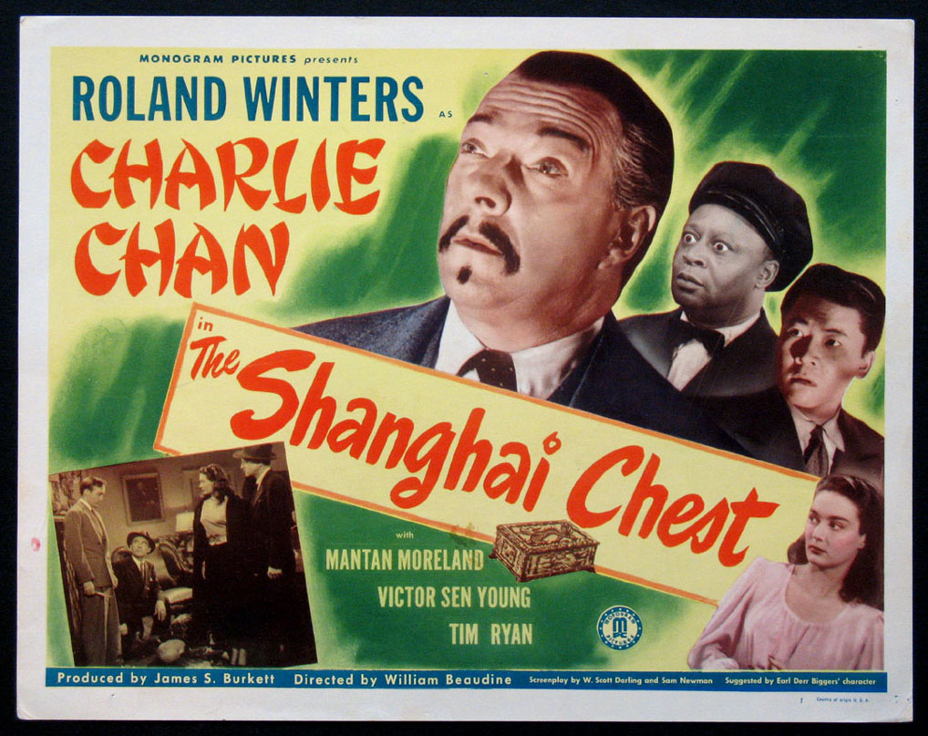 SHANGHAI CHEST, THE (Charlie Chan series) Movie Poster ...