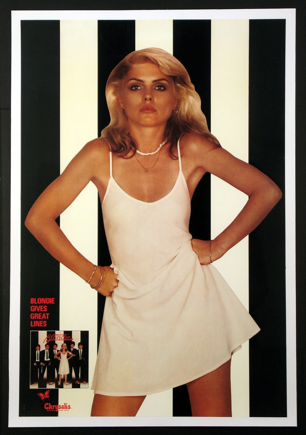 BLONDIE PARALLEL LINES ALBUM PROMOTIONAL POSTER @ FilmPosters.com