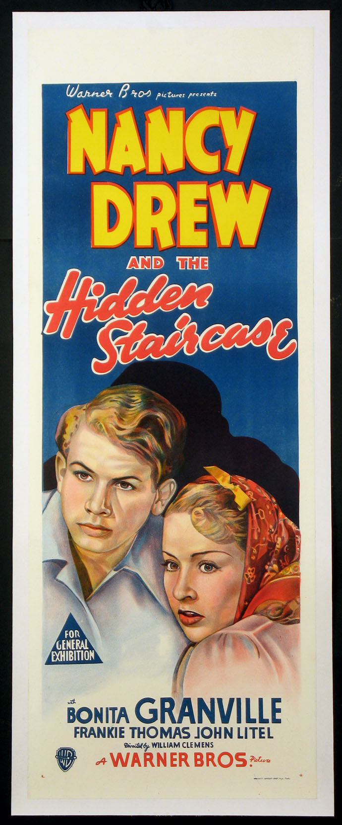 NANCY DREW AND THE HIDDEN STAIRCASE @ FilmPosters.com