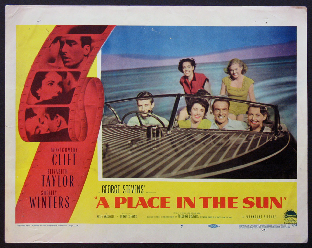 PLACE IN THE SUN, A @ FilmPosters.com