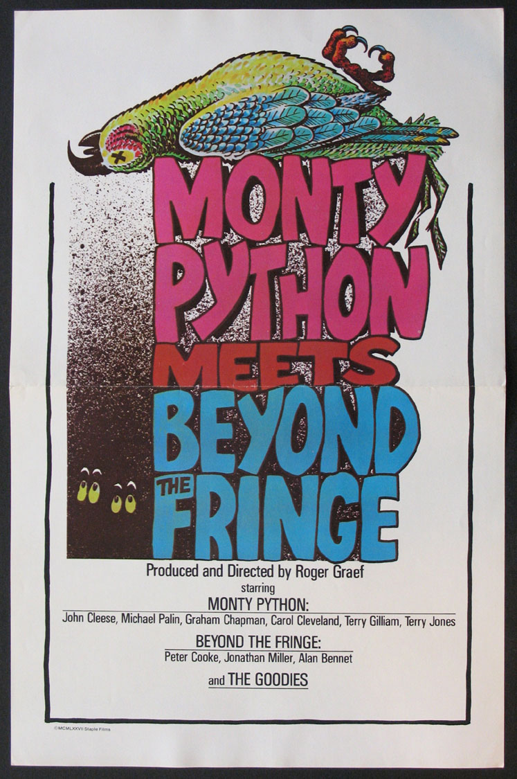 MONTY PYTHON MEETS BEYOND THE FRINGE (aka Pleasure at Her Majesty's) @ FilmPosters.com