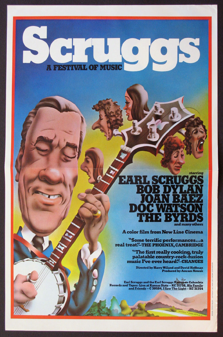SCRUGGS A FESTIVAL OF MUSIC @ FilmPosters.com