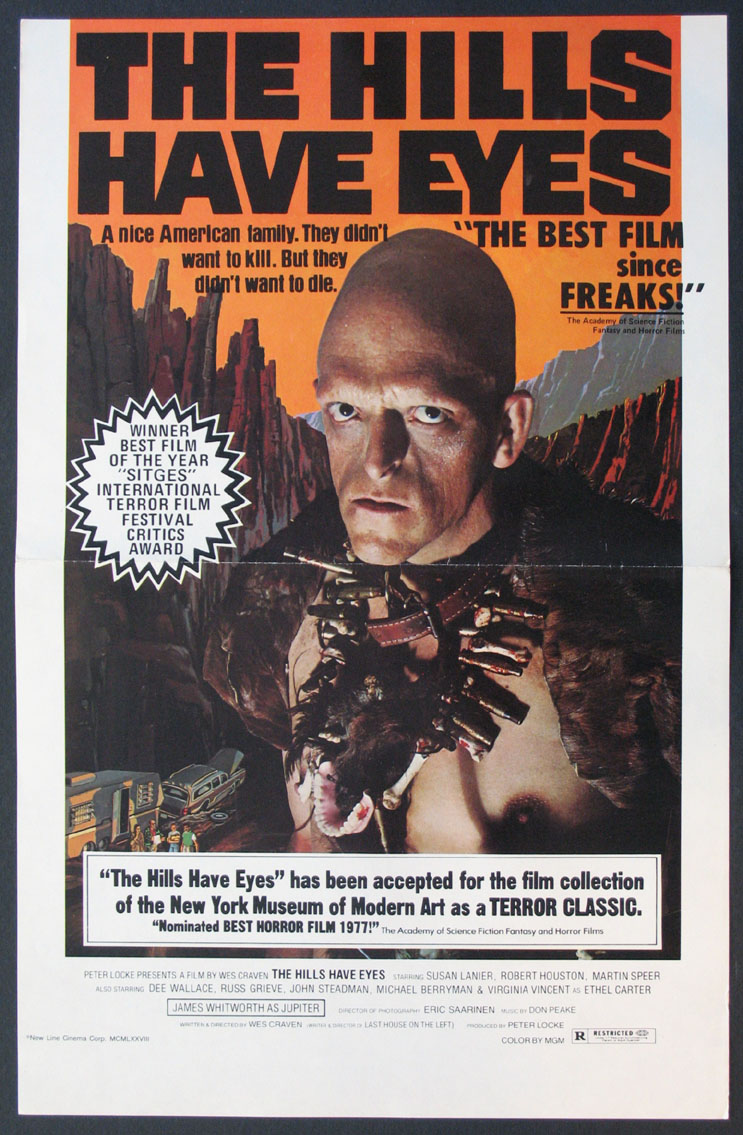 HILLS HAVE EYES, THE @ FilmPosters.com