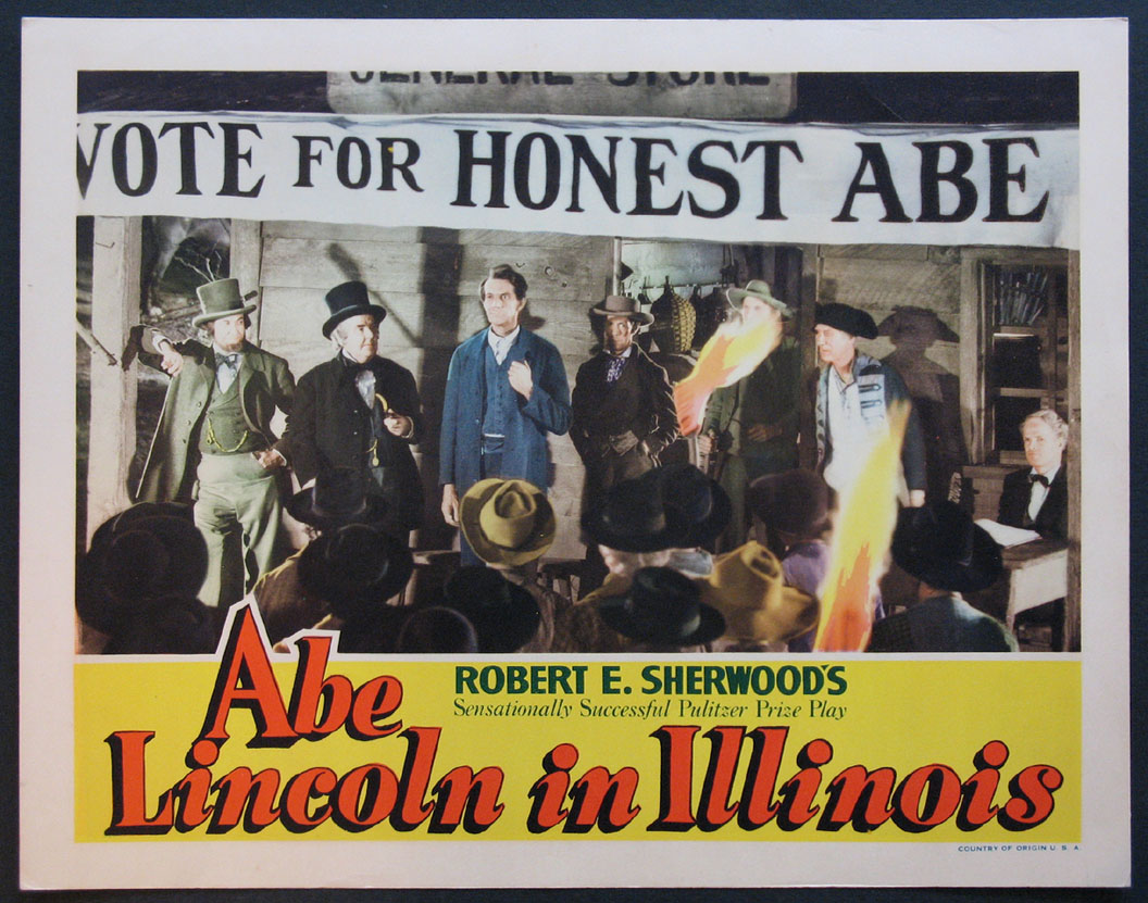 ABE LINCOLN IN ILLINOIS @ FilmPosters.com