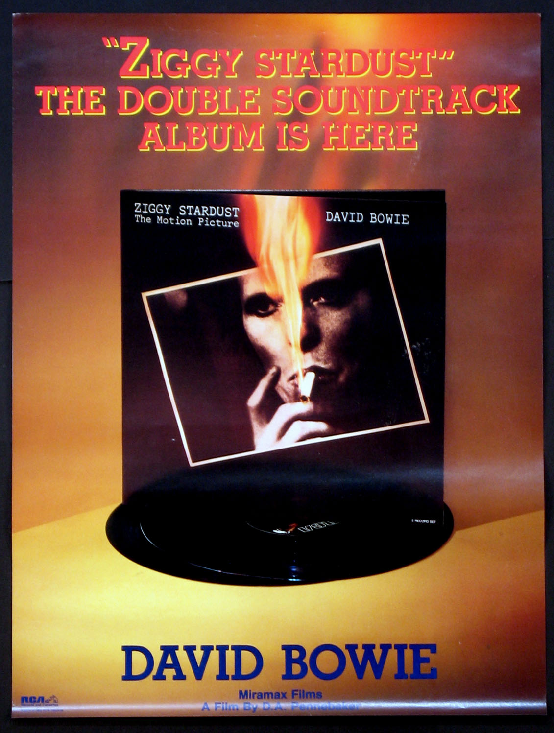 ZIGGY STARDUST and the Spiders from Mars Soundtrack poster @ FilmPosters.com