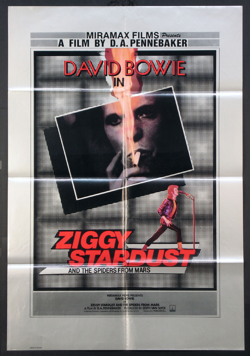 ZIGGY STARDUST and the Spiders from Mars @ FilmPosters.com
