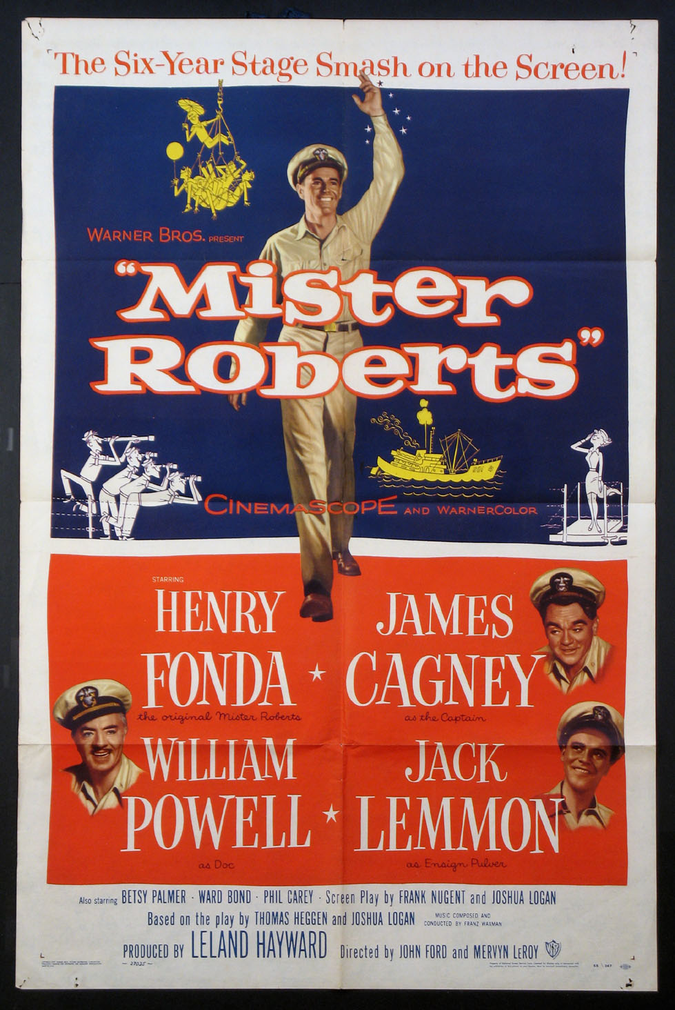 MISTER ROBERTS @ FilmPosters.com