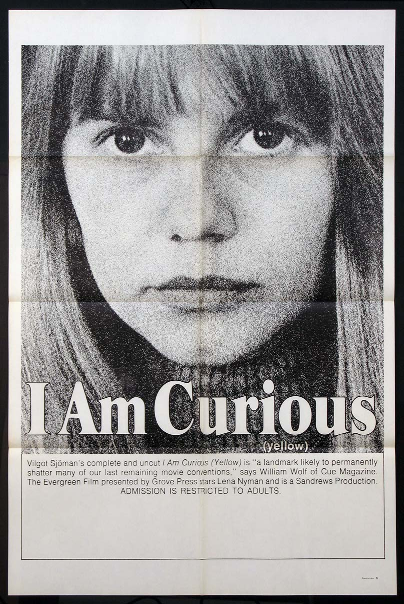 I AM CURIOUS (YELLOW) @ FilmPosters.com