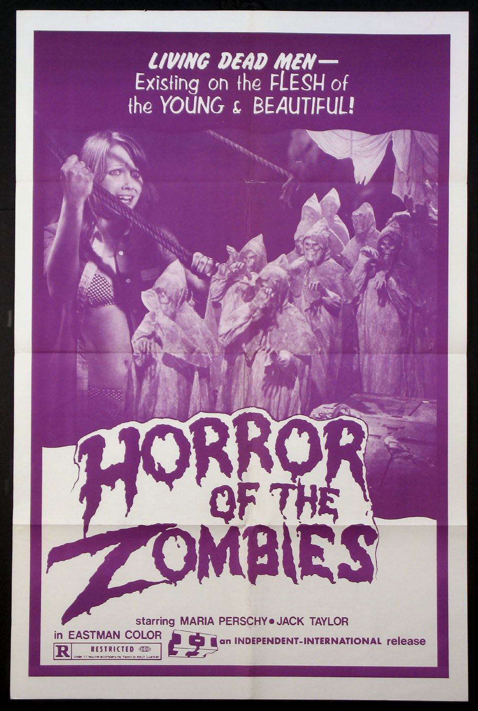 HORROR OF THE ZOMBIES @ FilmPosters.com