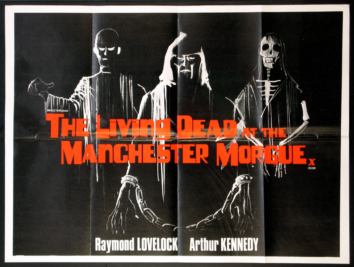 LIVING DEAD AT THE MANCHESTER MORGUE (aka Don't Open the Window, Let Sleeping Corpses Lie) @ FilmPosters.com