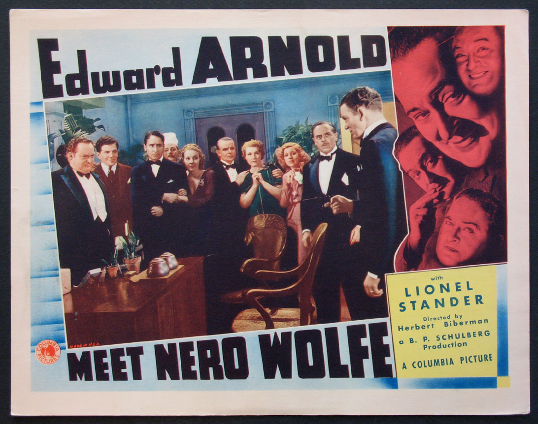 MEET NERO WOLFE @ FilmPosters.com