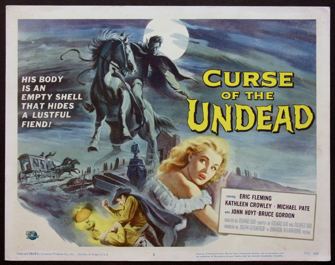 CURSE OF THE UNDEAD @ FilmPosters.com