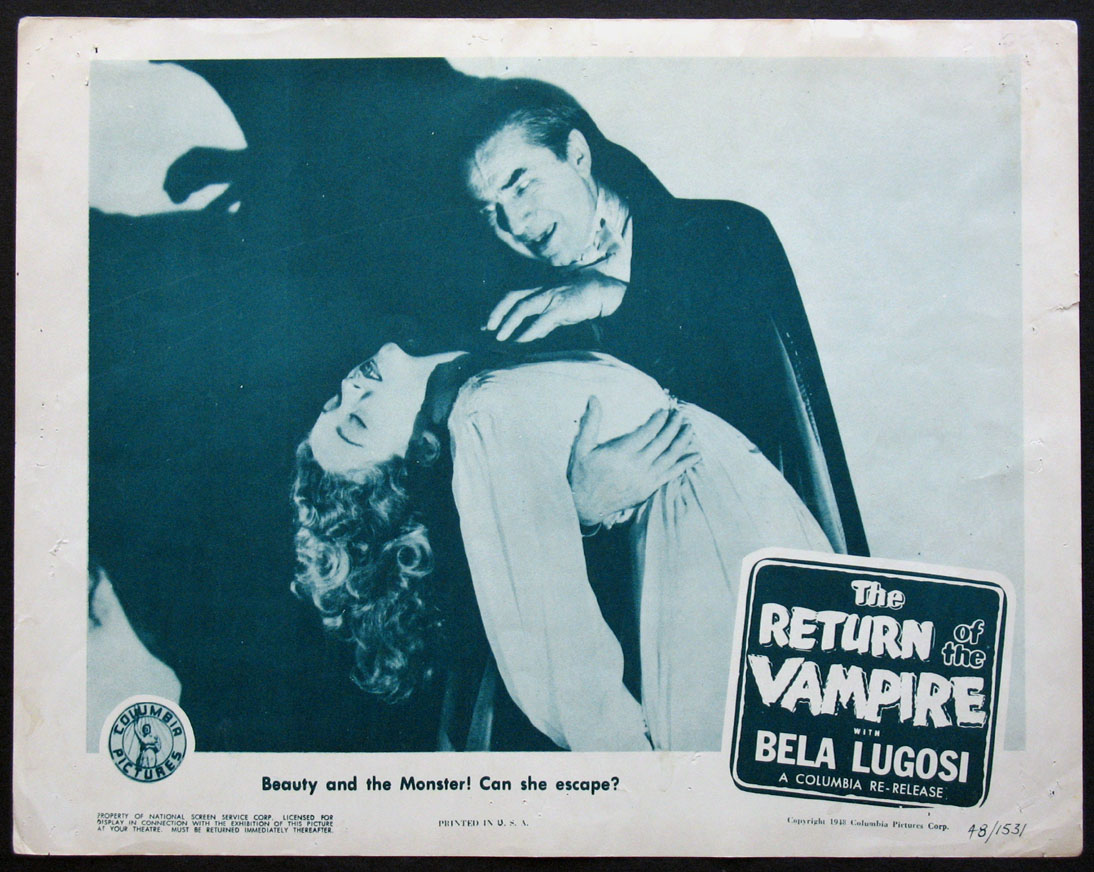 RETURN OF THE VAMPIRE @ FilmPosters.com