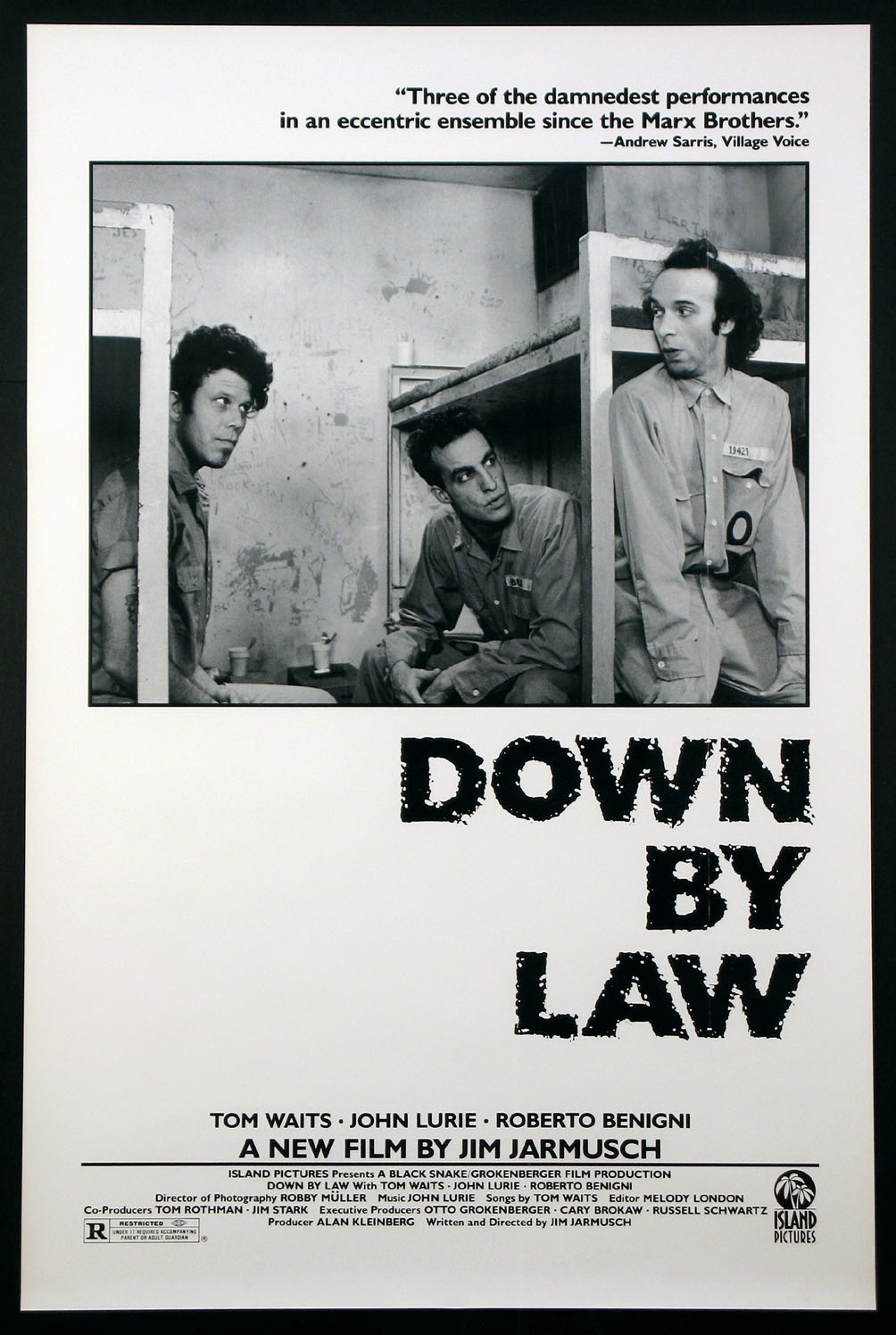DOWN BY LAW @ FilmPosters.com