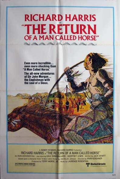 RETURN OF A MAN CALLED HORSE, THE @ FilmPosters.com