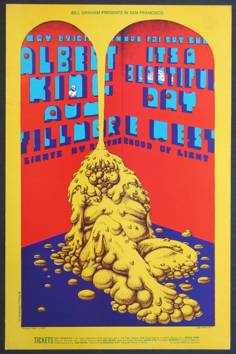 ALBERT KING IT'S A BEAUTIFUL DAY VINTAGE CONCERT POSTER @ FilmPosters.com