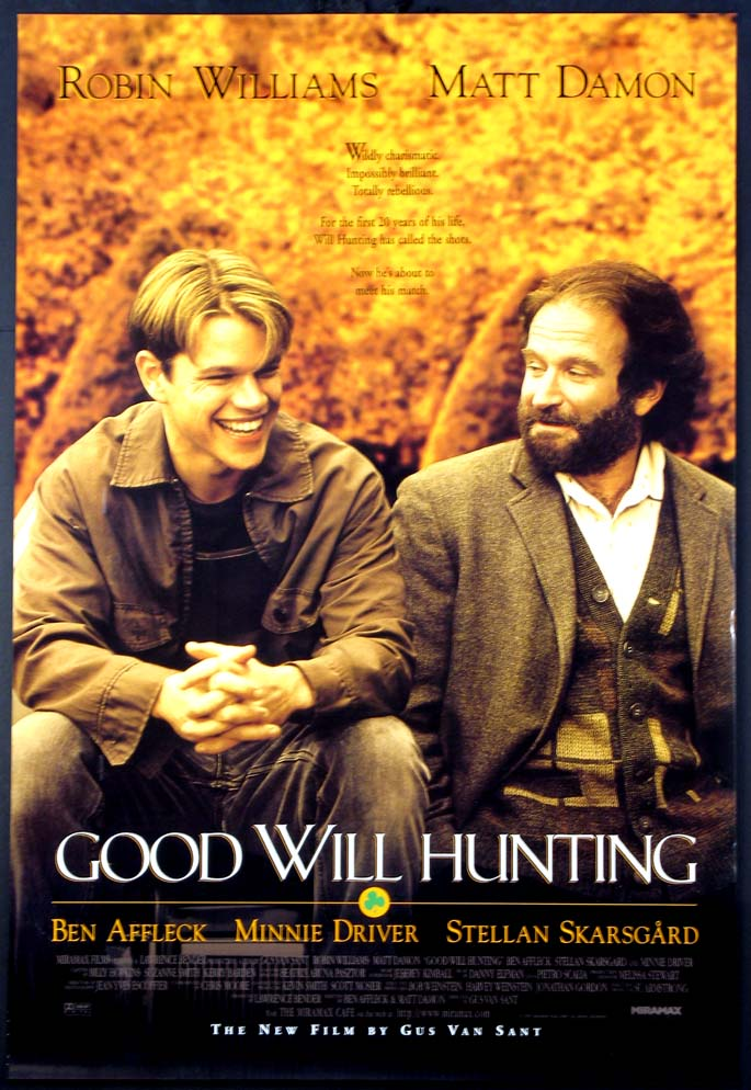 GOOD WILL HUNTING @ FilmPosters.com